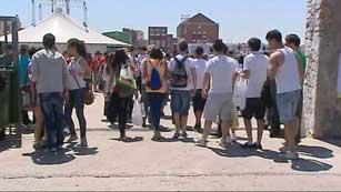 Cerca de 10.000 jóvenes se espera que acudan al macrobotellón en Valencia