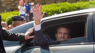 Macron habría ganado la primera vuelta de las elecciones legislativas