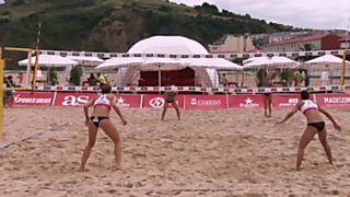 Voley playa - Madison Beach Volley Tour 2016. Prueba Laredo