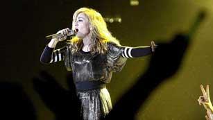 Madonna actúa hoy en Barcelona