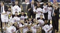 """Ir al VideoEl Madrid de baloncesto se proclama """"rey de Copas"""""""