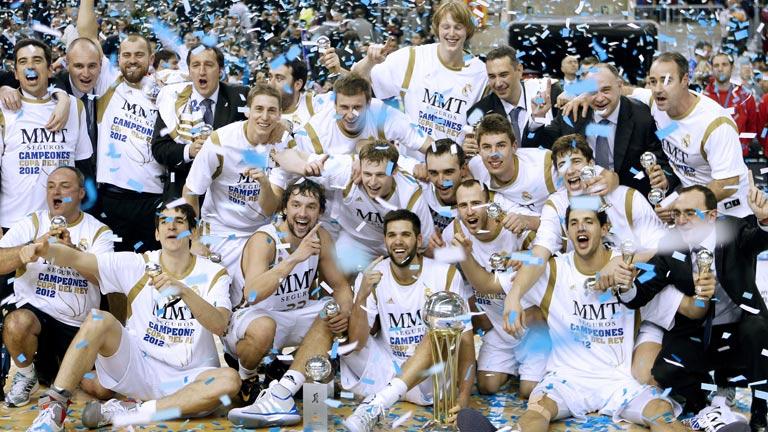 El Madrid, campeón. Lo mejor de la final de Copa de baloncesto