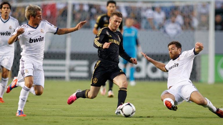 El Madrid golea al L.A. Galaxy (1-5)