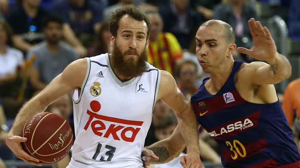 El Madrid se impone al Barcelona en el Palau (86-91)