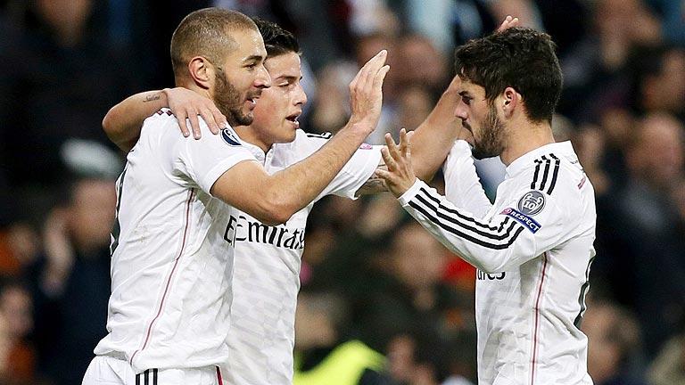 El Madrid sella los octavos venciendo al Liverpool