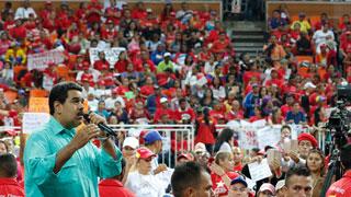 """Maduro: el referéndum revocatorio será """"el próximo año y punto"""""""