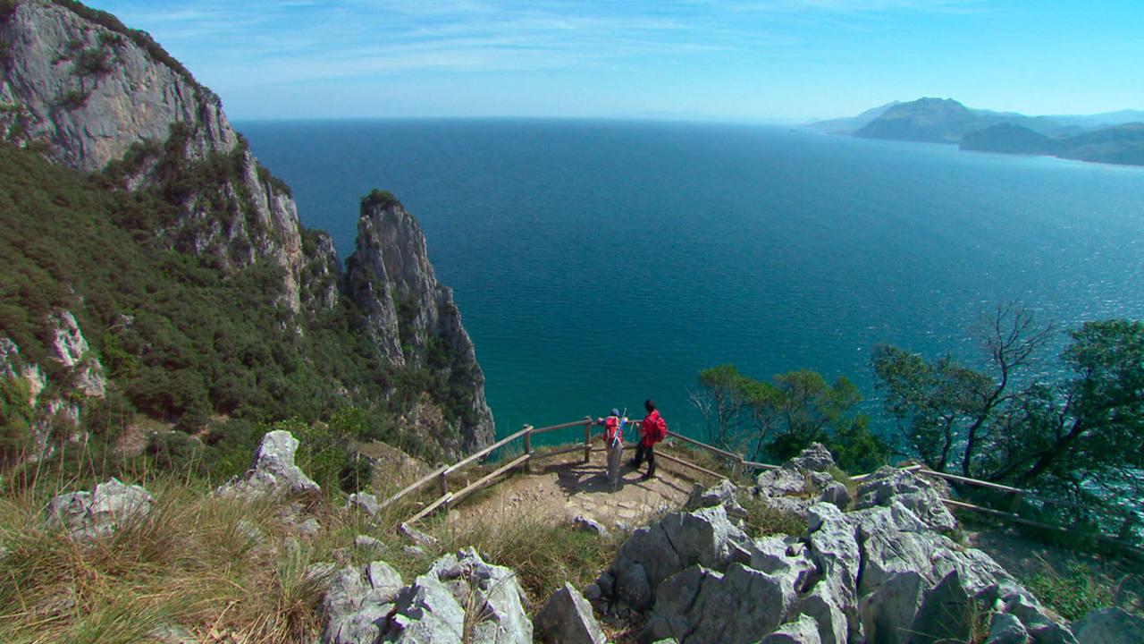 Magnífica vista de la Punta del Fraile