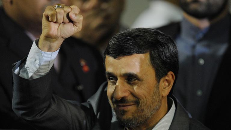 Ahmadineyad inicia su gira por Venez