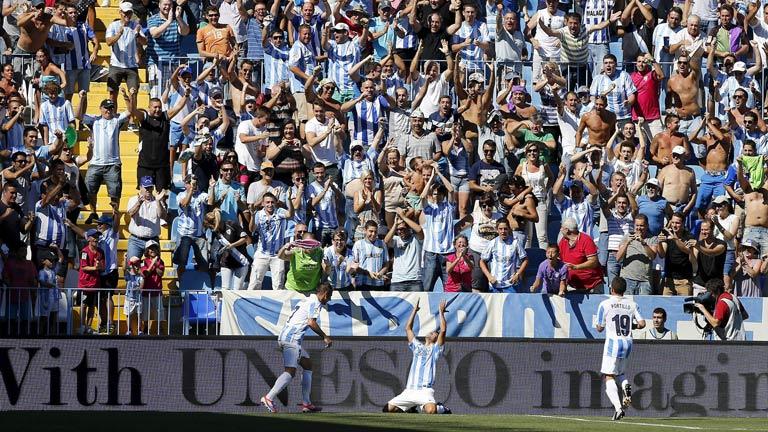 El Málaga afronta su primera Champions League con optimismo