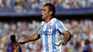El Málaga sueña con una victoria ante el Zenit