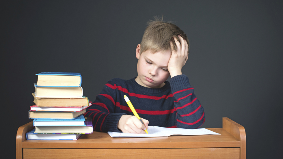 students not doing homework