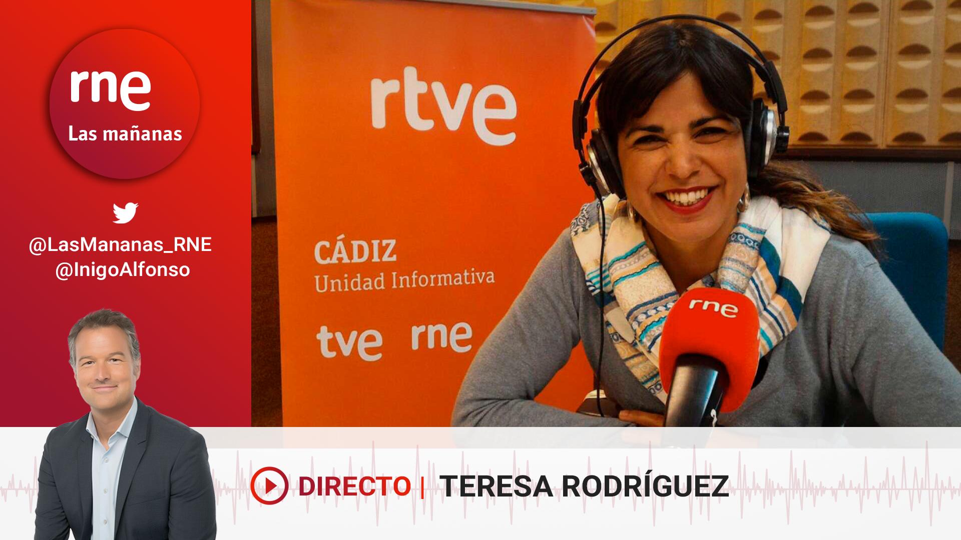 Ir al VideoLas mañanas de RNE con Íñigo Alfonso - Teresa Rodríguez se pasa la parada del bus
