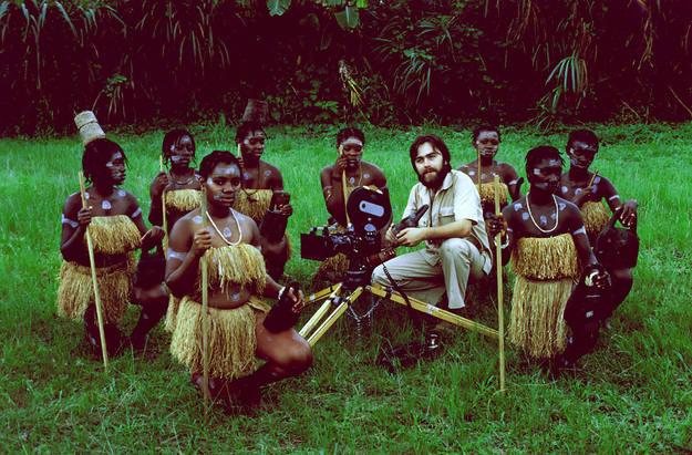 Manuel Ovalle en Guinea en 1979
