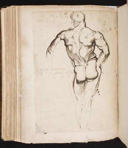Manuscrito Bordes, Cuaderno de Rubens, S. XVII