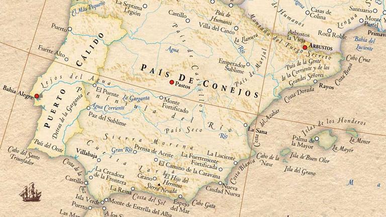 El mapa etimológico de Stephan Hormes