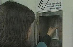 Primera máquina expendedora de leche de España