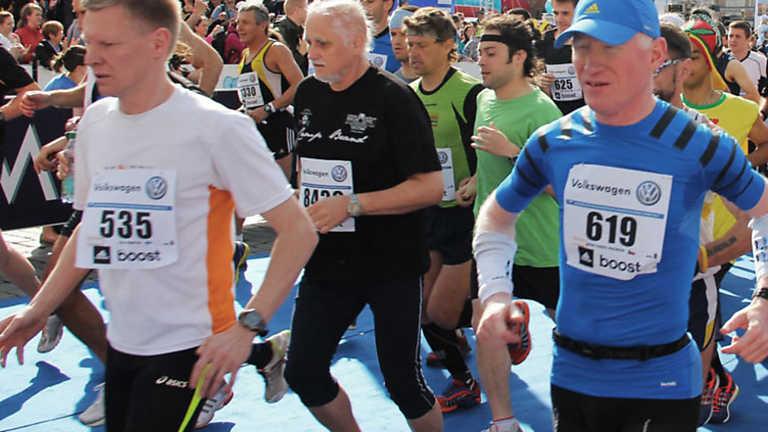 A la carrera - Maratón internacional de Praga