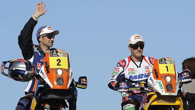 Marc Coma consigue el 2º puesto en la 1ª etapa