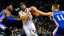 Ir al VideoMarc Gasol, con doble-doble, el español más destacado en la NBA