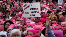 """Ir al VideoLa """"Marcha de las Mujeres"""" abarrota Washington para protestar contra Trump"""