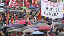 Ir al VideoLas Marchas por la Dignidad protestan en Madrid contra las políticas de austeridad