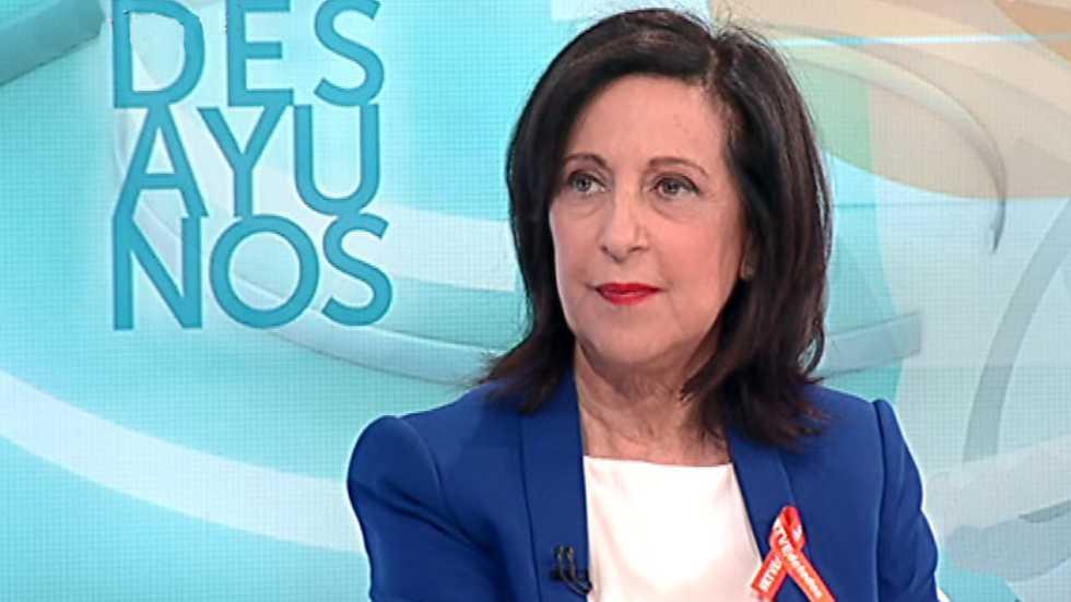 Los desayunos de TVE - Margarita Robles, portavoz del PSOE en el Congreso de los Diputados