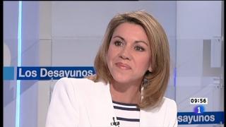 Los desayunos de TVE - María Dolores de Cospedal, Secretaria General del Partido Popular