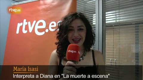 Amar - María Isasi os invita a ver 'La muerte a escena'