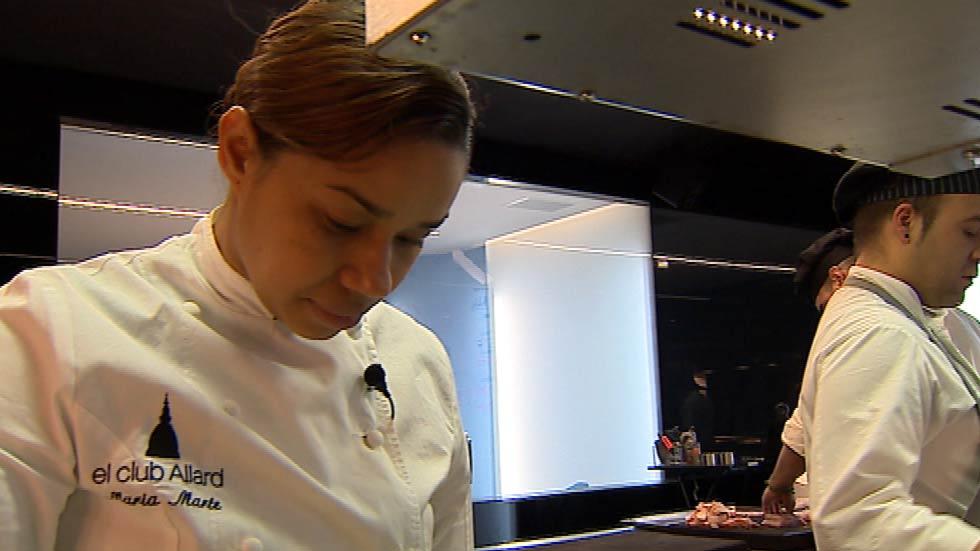 María Marte, de pinche a cocinera con dos estrellas Michelín