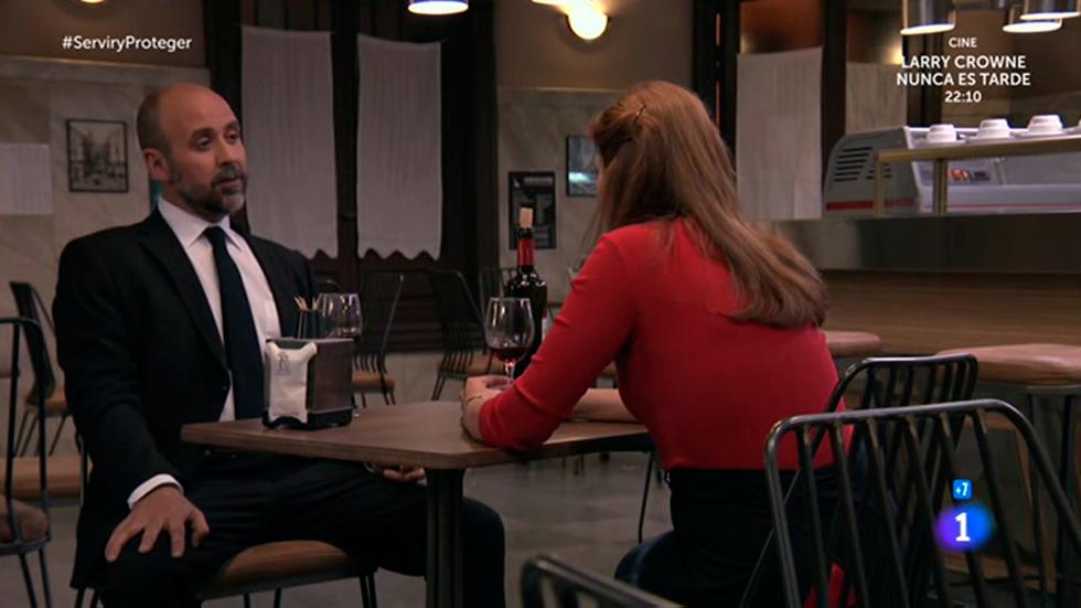 Servir y proteger - María y Osorio, ¿la última cena?