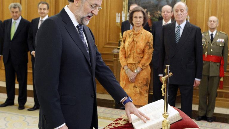 Mariano rajoy es ya el presidente del gobierno de espa a for Noticias del gobierno