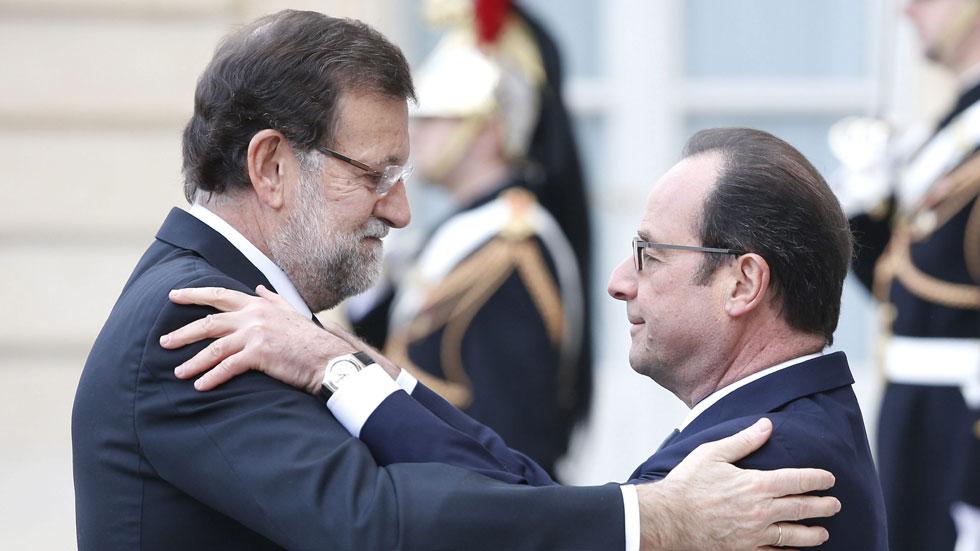 Mariano Rajoy muestra su apoyo al gobierno y pueblo francés