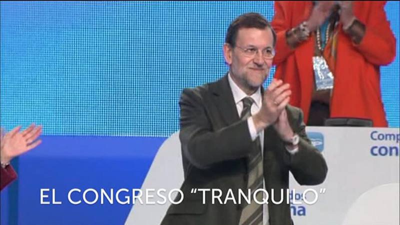 Mariano Rajoy, único candidato en el congreso del PP