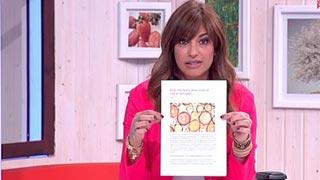 Saber vivir - Mariló aclara su comentario sobre el limón y el cáncer