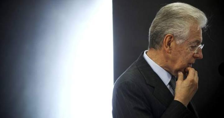 """Mario Monti pronuncia un discurso durante la conferencia """"Revitalizar Europa"""" el pasado 4 de octubre"""