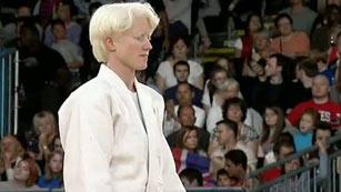 Marta Arce, bronce en judo paralímpico