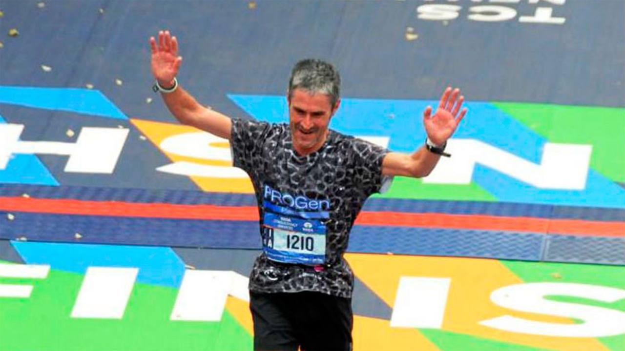 Martin Fiz gana en Berlín en la categoría de +50