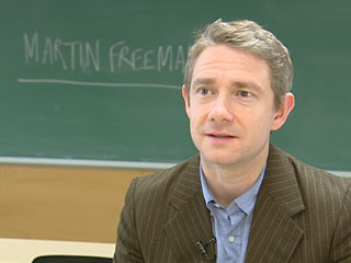"Martin Freeman, protagonista de ""El hobbit"", rueda en Barcelona"
