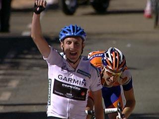 Daniel Martin gana la novena etapa de la Vuelta
