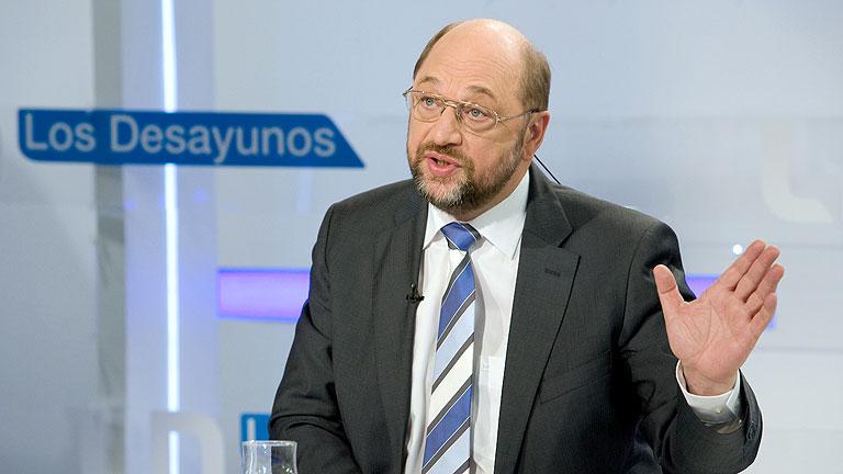 """Martin Schulz: """"Se está preparando un cambio de dirección en la UE"""""""