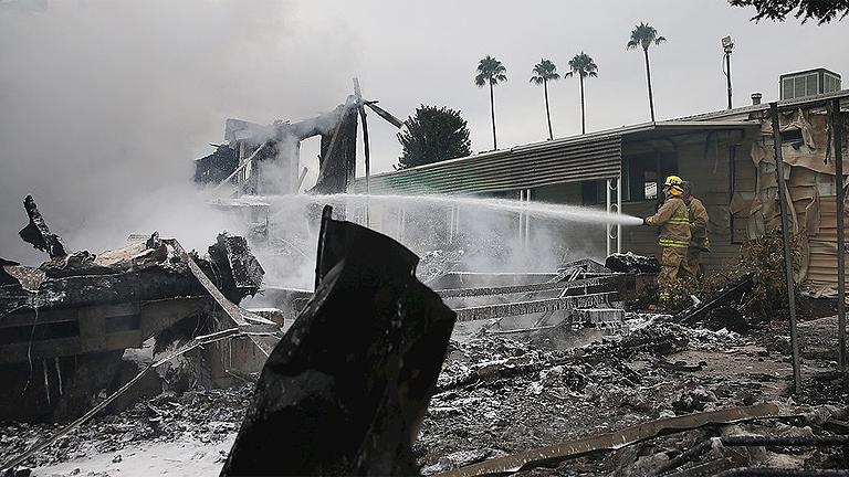 Más de 170 de heridos en el mayor seísmo en el norte de California desde 1989