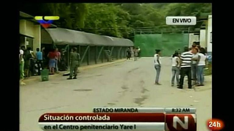 Más de 20 muertos en enfrentamientos entre bandas en una prisión de Venezuela