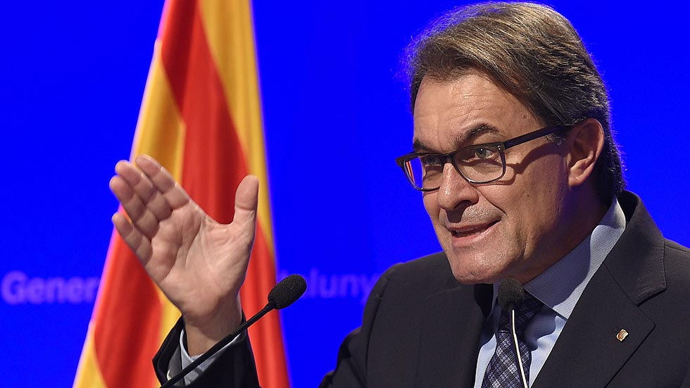 """Mas aboga por hacer la """"consulta definitiva"""" y pide a Rajoy por carta """"diálogo permanente"""""""