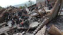 Ir al VideoMás de un centenar de muertos en un seísmo de magnitud 7 en el centro de China