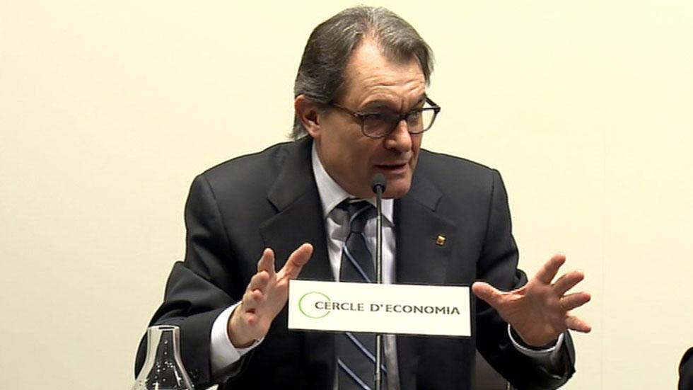 """Artur Mas: """"El único camino que nos dejan son las elecciones del 27-S"""""""