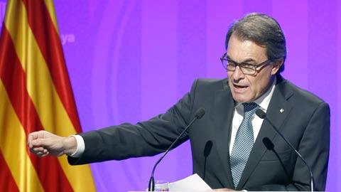 Mas pide solidaridad a los catalanes para poder pagar la fianza de 5,2 millones de euros