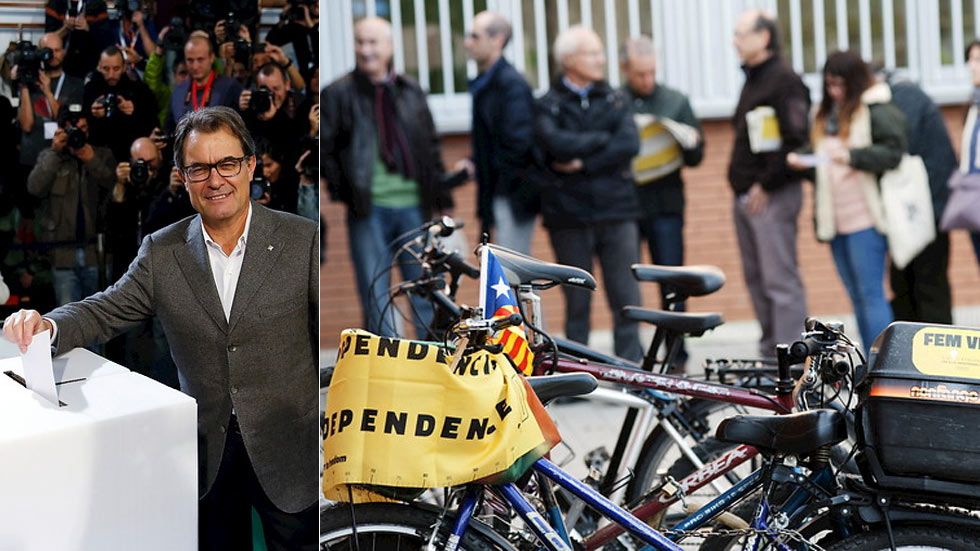 "Mas reivindica un ""referéndum definitivo"" y el PP tacha el 9N de ""pucherazo"""