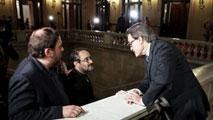Ir al VideoMas se ofrece a presidir un Govern cediendo peso a Junqueras, Romeva y Munté