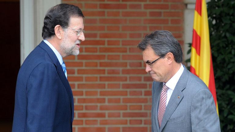 """Mas tomará """"decisiones"""" la próxima semana tras el no de Rajoy a la negociación del pacto fiscal"""