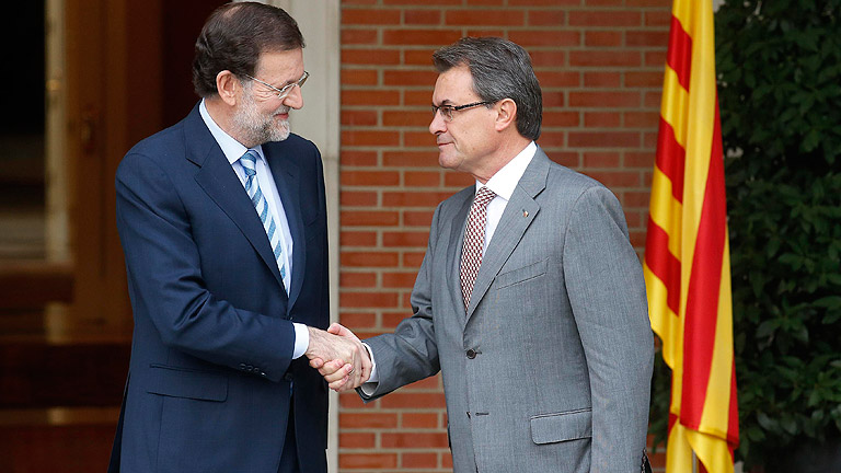 """Mas tomará """"decisiones"""" tras el no de Rajoy a la negociación del pacto fiscal"""